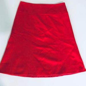 J. Crew Wool & Cashmere A-line Skirt